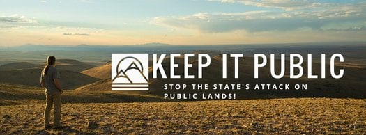 image of Keep Public Lands in Public Hands