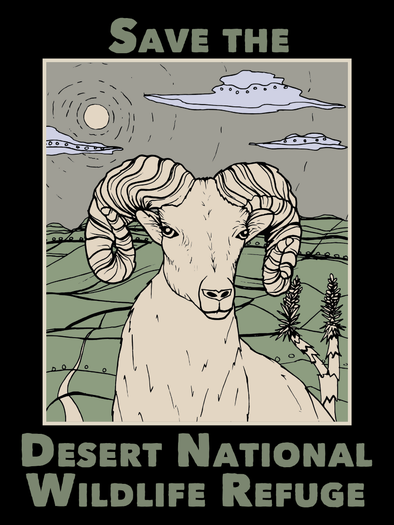 image of Save The Desert National Wildlife Refuge #DontBombTheBighorn
